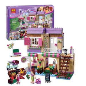Bộ xếp hình cửa hàng rau củ của Mia