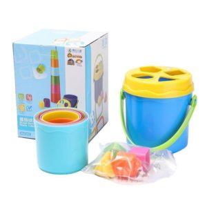 Bộ đồ chơi xếp hình khối Nest and Stack bucket