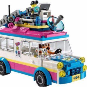 xếp hình lego xe du lịch của Oliva