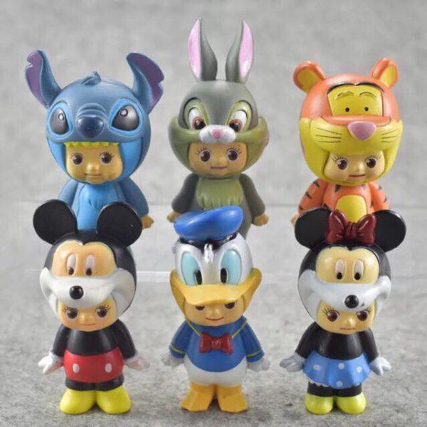 Set 6 nhân vật hoạt hình disney