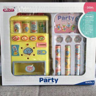 Bộ đồ chơi máy bán nước ngọt tự động