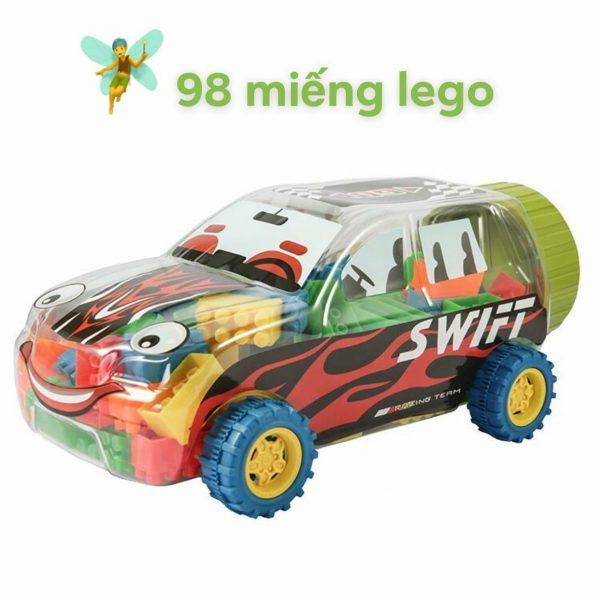 Bộ lego xếp hình siêu xe 98 chi tiết