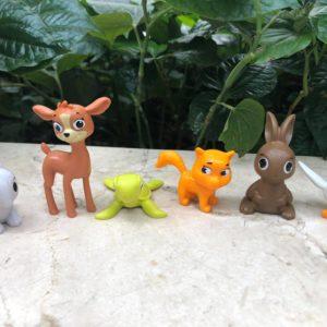 Set 7 thú rừng