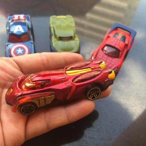Set 4 xe siêu anh hùng avenger