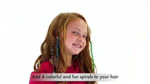 Bộ dụng cụ làm tóc cho bé hair beader