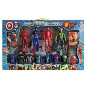 Bộ đồ chơi 12 siêu anh hùng Avenger
