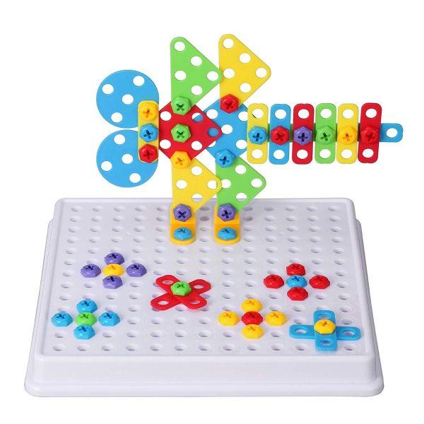 Bộ đồ chơi xếp hình lắp vít 3d