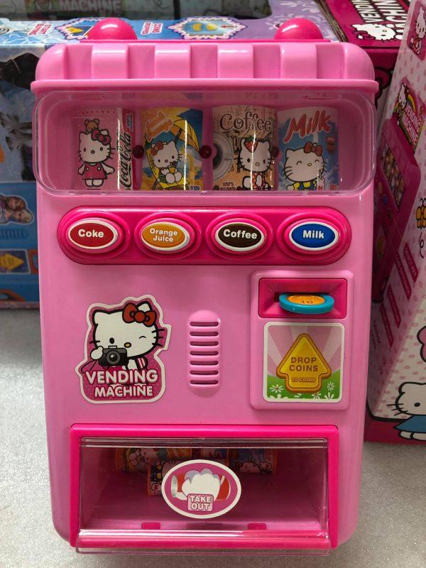 máy bán nước ngọt tự động kitty và frozen