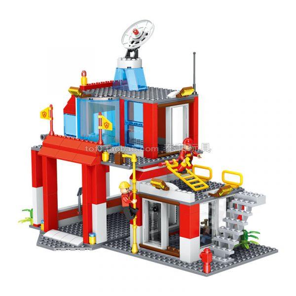 Bộ xếp hình Trạm cứu hỏa thành phố