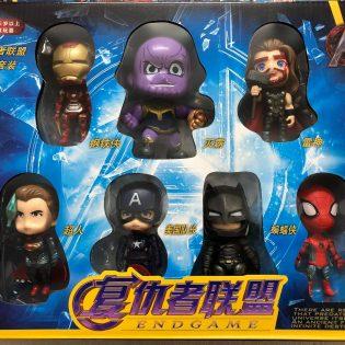 Bộ đồ chơi sưu tập 7 siêu anh hùng Marvel Avenger