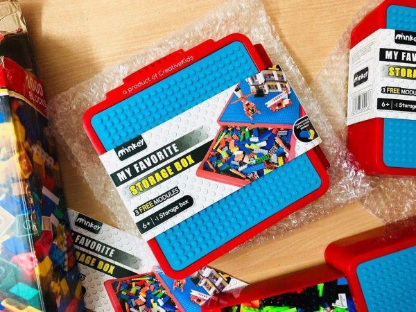 Bộ xếp hình vali lego