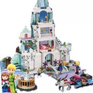 bộ xếp hình lâu đài elsa cỡ lớn
