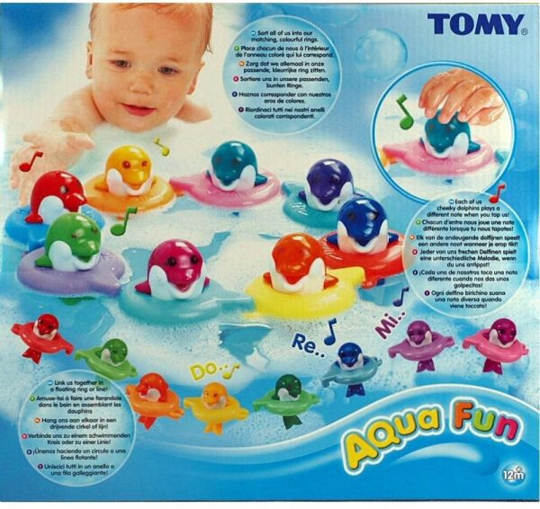 Tomy Aquafun Dolphins - Đồ chơi tắm cá heo