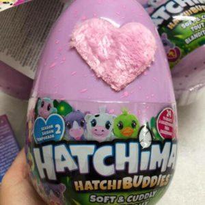 Trứng Hatchimals thú bông Hatchy Buddies