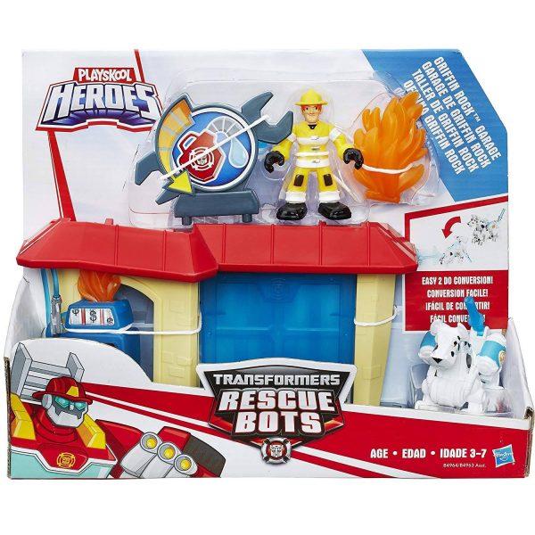 Bộ mô hình trạm cứu hỏa Rescue Bots