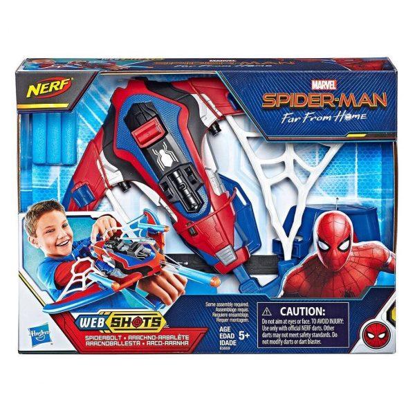 Cung tên Spiderman Web Shots Spiderbolt Nerf