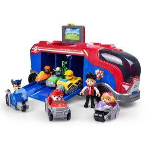 Bộ mô hình Xe chở đội chó cứu hộ