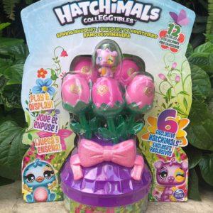 set trứng Hatchimals giỏ hoa mùa xuân