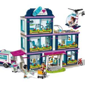 Bộ xếp hình lắp ghép Bệnh Viện lớn của thành phố