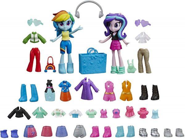 Hộp Pony Equestria Girls và tủ quần áo thời trang