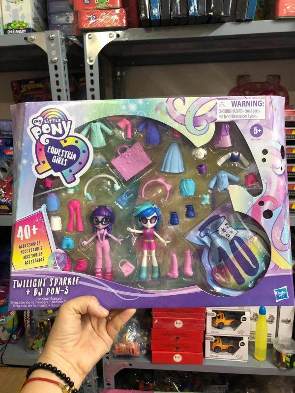 Hộp Pony Equestria Girls và tủ quần áo thời trang mẫu mới