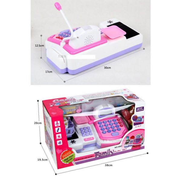 Bộ đồ chơi quần tính tiền siêu thị