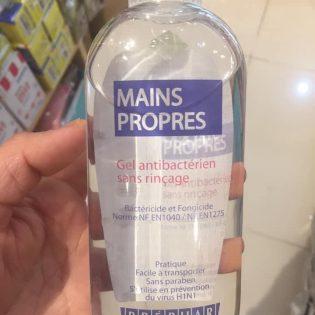 Gel nước rửa tay khô sát khuẩn 99.9% Mains Propres 100ml xuất xứ Pháp sẵn hàng