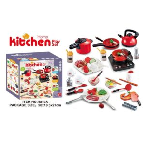 Bộ đồ chơi nấu ăn nhà bếp 50 chi tiết