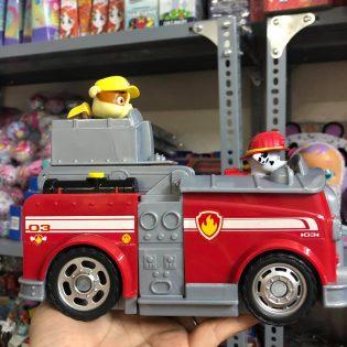 Bộ xe cứu hoả Paw Patrol Marshall