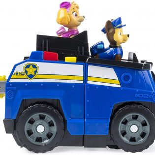 Bộ xe cảnh sát Paw Patrol Chase