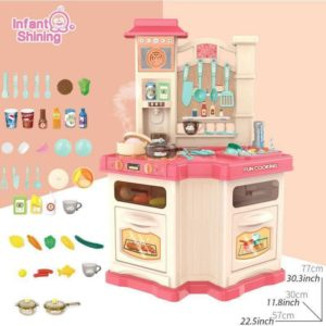 Bộ đồ chơi quầy bếp size to Water Vapor Kitchen