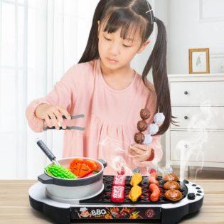 Bộ đồ chơi nấu lẩu và nướng BBQ