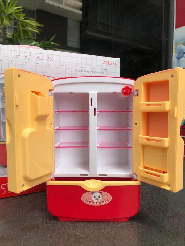 Mô hình tủ lạnh cho bé mẫu gấu