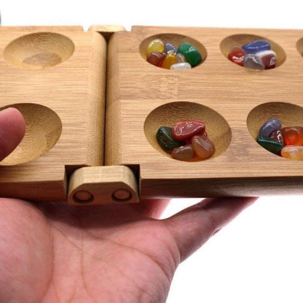 trò chơi dân gian vui nhộn cờ ô ăn quan làm từ gỗ tự nhiên