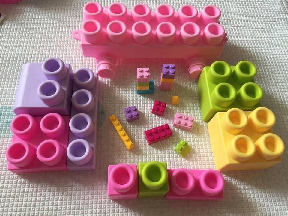 Lego dẻo kích thước siêu to, an toàn cho bé nhỏ