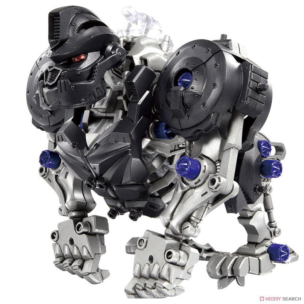 Ghép hình Thú Vương Đại Chiến Zoids - mẫu Knuckle Kong
