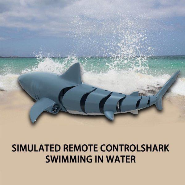Mô hình cá mập biết bơi điều khiển từ xa vui nhộn thú vị