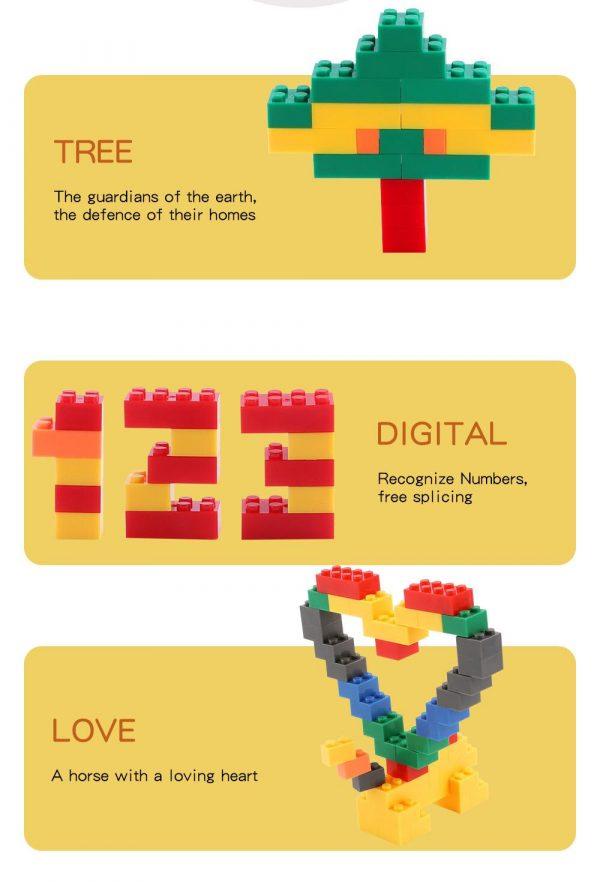 Bộ Xếp Hình Lắp Ghéo Lego Tự Do 1000 Mảnh Ghép
