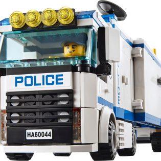 Bộ xếp hình lắp ghép Trạm cảnh sát di động