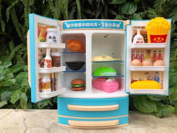 Mô hình tủ lạnh 2 cửa size to cho bé