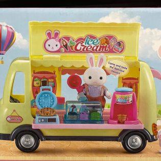 Bộ đồ chơi mô hình Xe bán kem của nhà Thỏ Dreamy