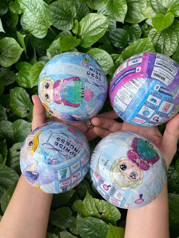 Hộp đồi chơi sưu tập 6 Trứng Công Chúa