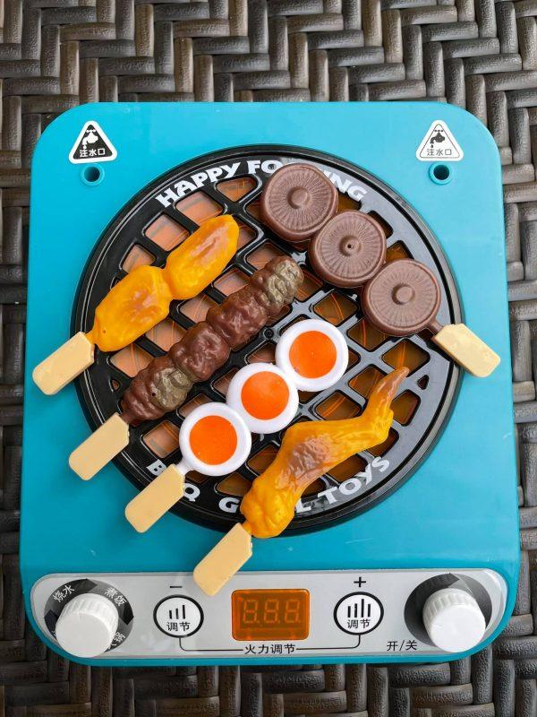 Bộ đồ chơi nấu bếp nướng nữ công gia chánh Happy BBQ cho bé