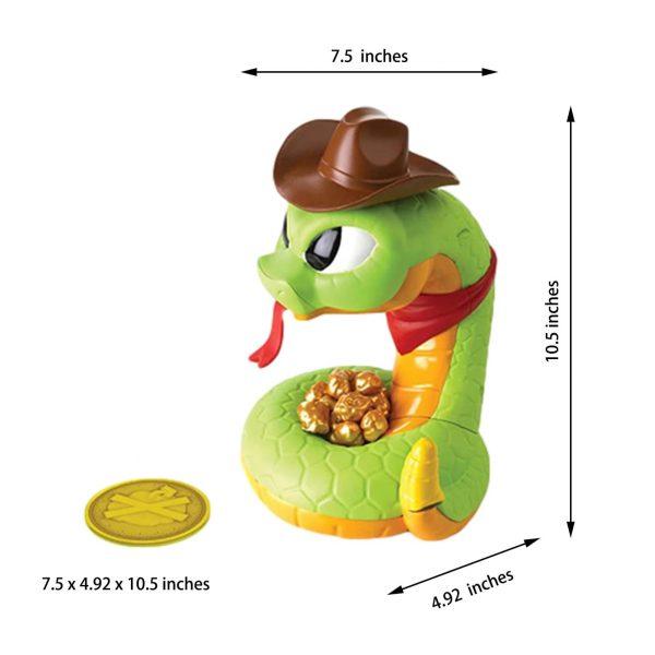 Bộ đồ chơi rắn giữ kho báo