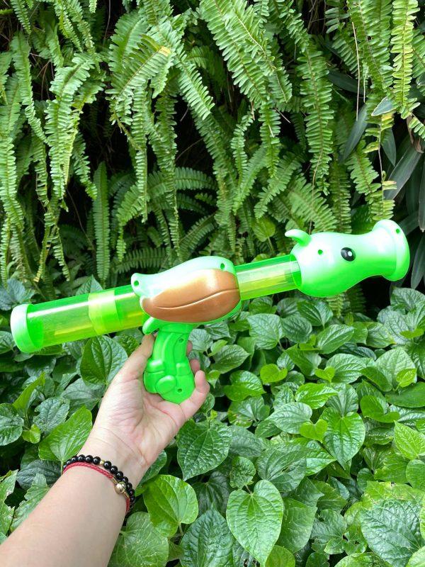 Bộ mô hình đồ chơi súng bắn Zombie mô phỏng game Plant vs Zombie mẫu 1