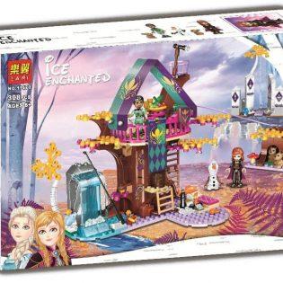 Bộ xếp hình lắp ghép Ngôi nhà trên cây của Frozen Elsa
