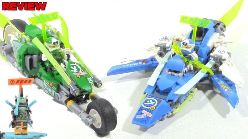 Bộ xếp hình lắp ráp xe đua Ninja Go