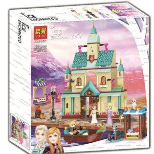 Bộ xếp hình lắp ghép Lâu đài Elsa