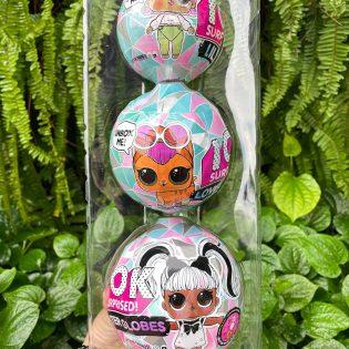 Hộp đồ chơi 3 trứng công chúa
