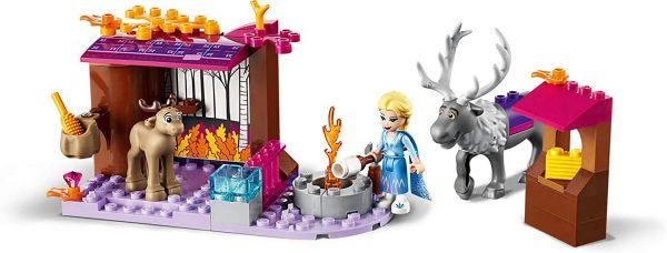 Bộ xếp hình Lắp Ghép Cỗ Xe Ngựa Elsa